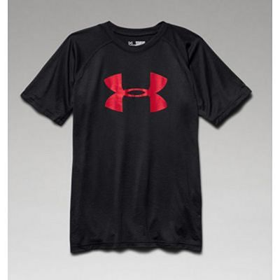 Under Armour Tech Big Logo Tee Youth Black