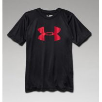 Under Armour Tech Big Logo Tee Youth Schwarz