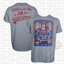 Under Armour Transform Yourself Retro Superman T-Shirt Grau