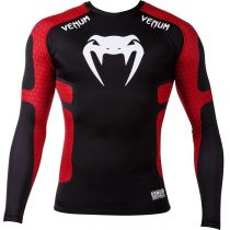 Venum Absolute Compression T-shirt LS Black-Red