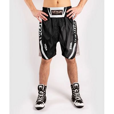 Venum Arrow Loma Signature Boxing Shorts Black-White