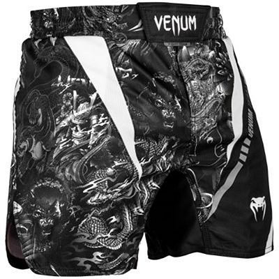 Venum Art Fightshorts Black-White