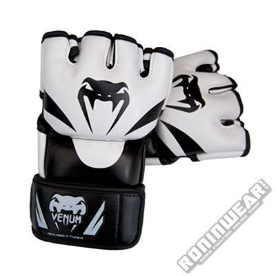 Venum Attack MMA Gloves Black-White