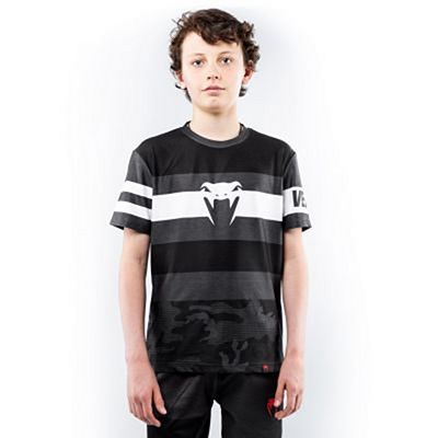 Venum Bandit Dry Tech T-shirt For Kids Black-White