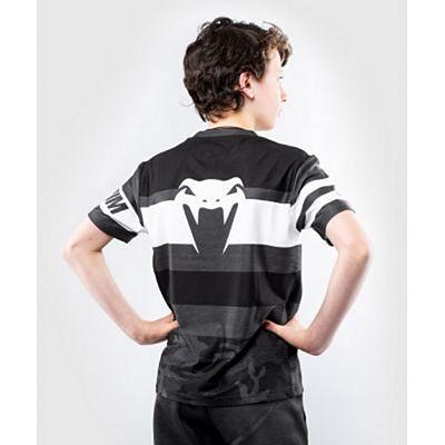 Venum Bandit Dry Tech T-shirt For Kids Black-White
