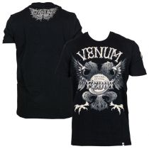 Venum Black Eagle Fedor Signature T-shirt Negro