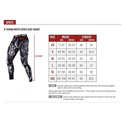 Venum Bloody Roar Spats Red