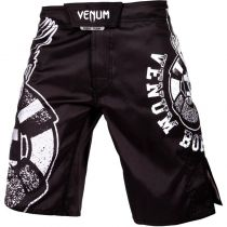 Venum Born To Fight Kids Fightshorts Preto-Branco