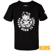 Venum Born To Fight Kids T-shirt Schwarz