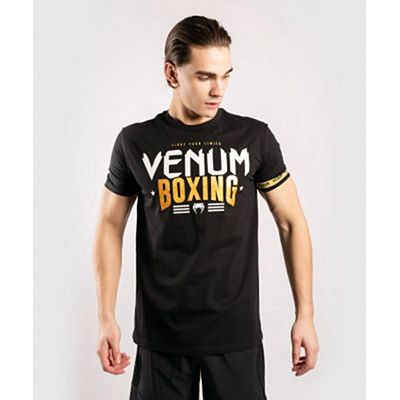 Venum BOXING Classic 20 T-Shirt Black-Gold