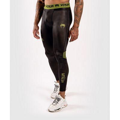 Venum Boxing Lab Compression Tights Black-Green