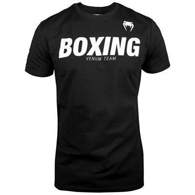 Venum Boxing VT T-shirt Black-White