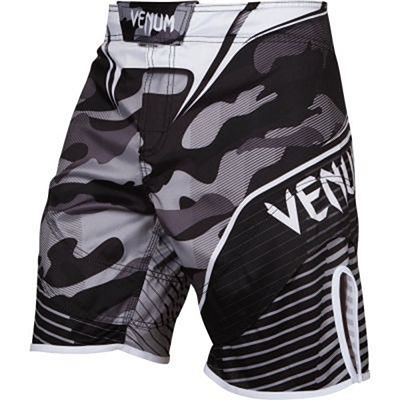 Venum Camo Hero Fightshorts White-Black