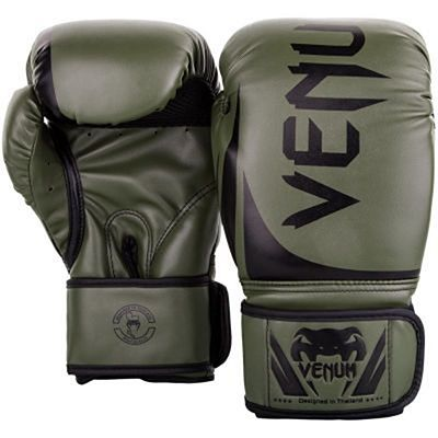 Venum Challenger 2.0 Boxing Gloves Verde-Negro