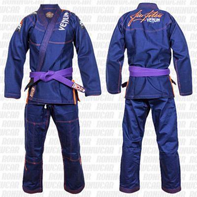 Venum Challenger 3.0 BJJ Gi Azul Marino-Naranja