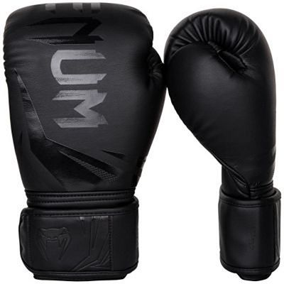 Venum Challenger 3.0 Boxing Gloves Black-Black