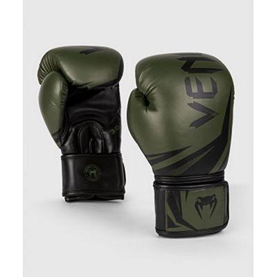 Venum Challenger 3.0 Boxing Gloves Green-Black