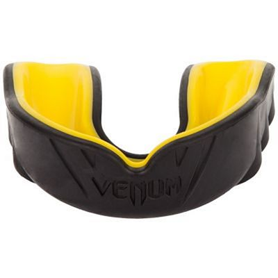 Venum Challenger Mouthguard Black-Yellow