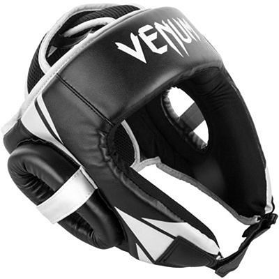 Venum Challenger Open Face Headgear Black-White