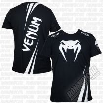 Venum Challenger T-shirt Negro-Blanco