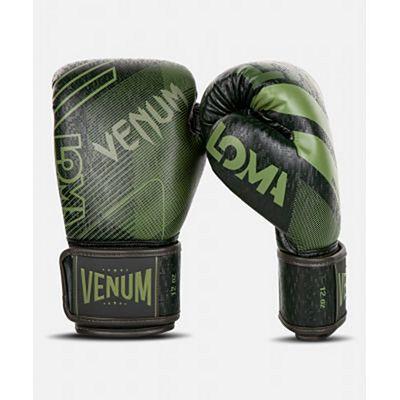 Venum Commando Boxing Gloves Schwarz-Grün