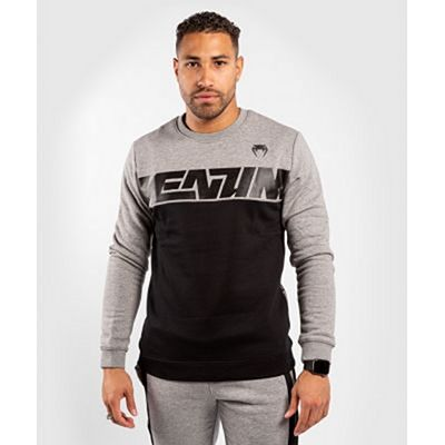Venum Connect Crewneck Sweatshirt Black-Grey
