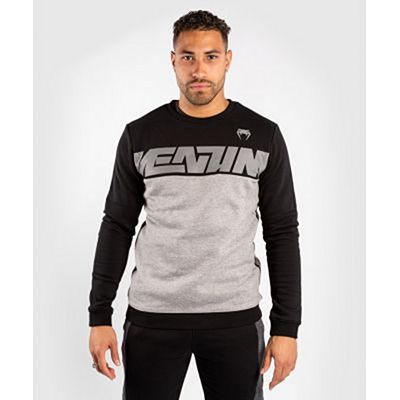 Venum Connect Crewneck Sweatshirt Heather Black-Grey