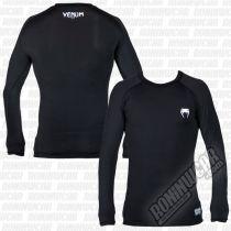 Venum Contender 2.0 Compression T-shirt L/S Nero