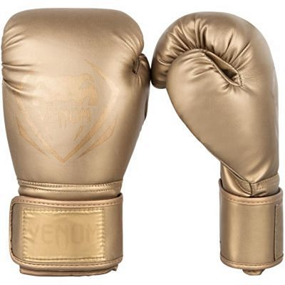Venum Contender Boxing Gloves Gold-Gold