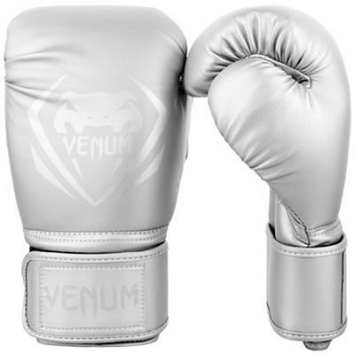 Venum Contender Boxing Gloves Silver-Silver