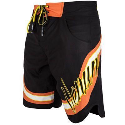 Venum Cutback Boardshorts Black-Yellow