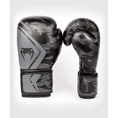 Venum Defender Contender 2.0 Boxing Gloves Black-Black