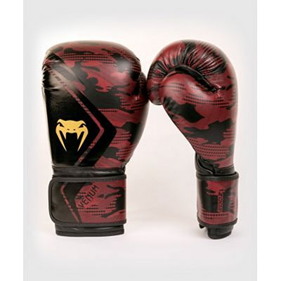 Venum Defender Contender 2.0 Boxing Gloves Black-Red
