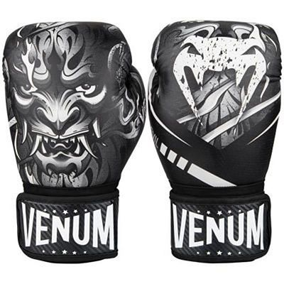 Venum Devil Boxing Gloves Blanco-Negro