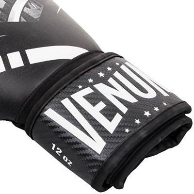 Venum Devil Boxing Gloves White-Black