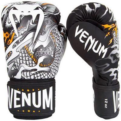 Venum Guantes Boxeo Dragons Flight Negro-Blanco