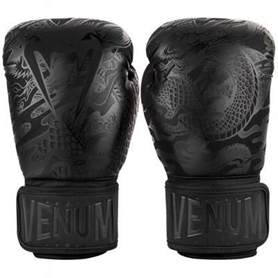 Venum Dragon's Flight Boxing Gloves Black