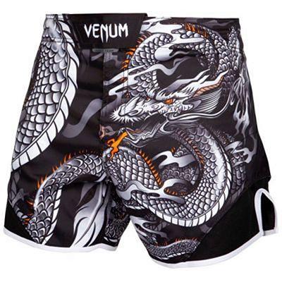 Venum Dragons Flight Fightshorts Black-White