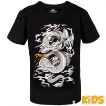 Venum Dragons Flight Kids  T-shirt Negro-Blanco