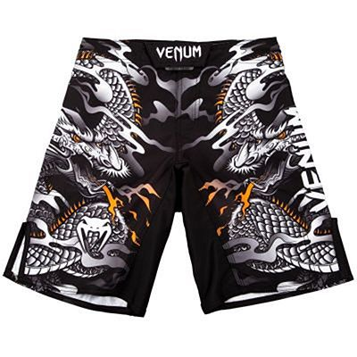 Venum Dragons Flight Kids Fightshorts Black-White