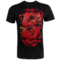 Venum Dragons Flight T-shirt Negro-Rojo