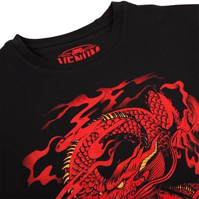 Venum Dragons Flight T-shirt Black-Red