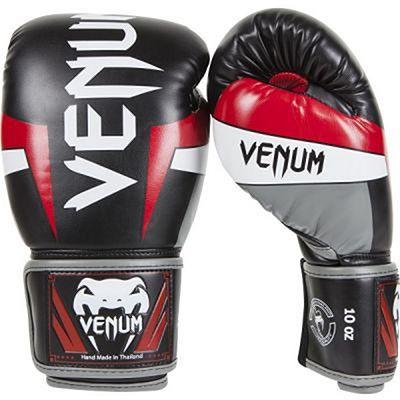 Venum Elite Boxing Gloves Nero-Rosso