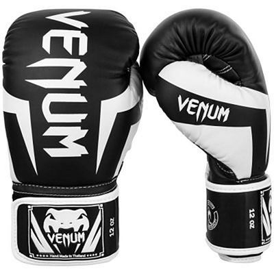 Venum Elite Boxing Gloves Black-White