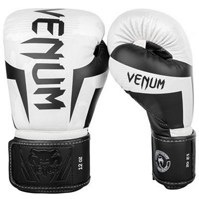 Venum Elite Boxing Gloves White-Camo