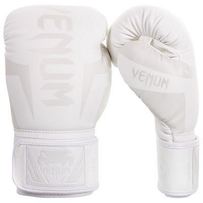Venum Elite Boxing Gloves White-White