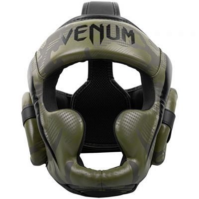 Venum Elite Boxing Helmet Green-Camo