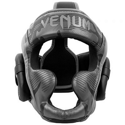 Venum Elite Boxing Helmet Grey-Camo