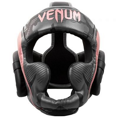 Venum Elite Boxing Helmet Grey-Pink