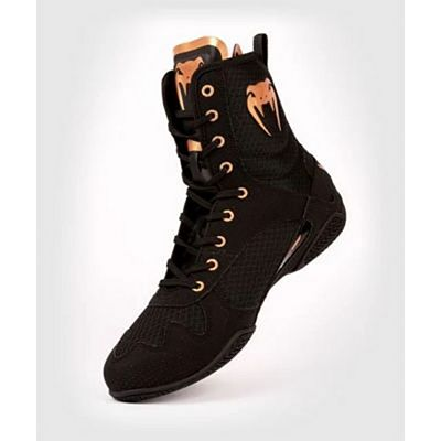 Venum Elite Boxing Shoes Noir-Or